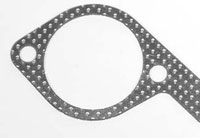 "ARMOR CLAD Ideal for exhaust gasket applications. Can withstand temperatures up to 20000F. Compressable to seal less than perfect sealing surfaces. Retains torque. Available thickness: .042"", .064"""
