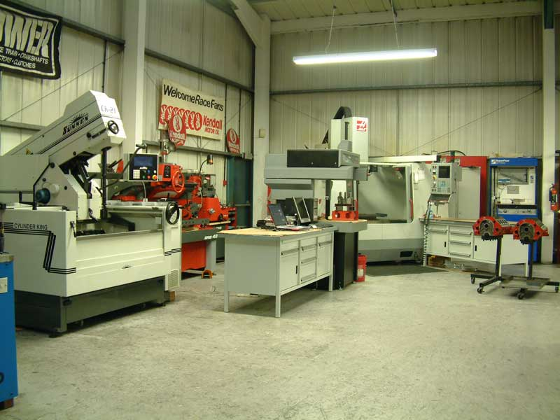 Engine Machine Shop >> Race Engine Preparation Facility Machine Shop